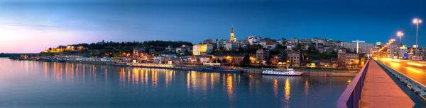 Old Belgrade By Night 1