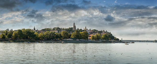 Zemun-by-day-Danube-river-with-Pupin-Bridge