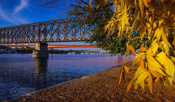 Old-Railway-and-Gazela-Bridge-Sava-River-Belgrade-Fall