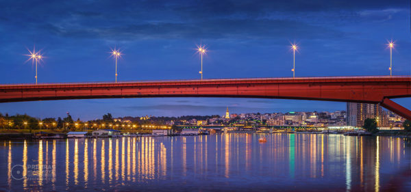 Sava-River-Belgrade-Gazela-Bridge-Old-Belgrade