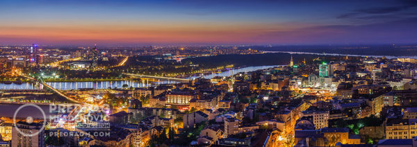 New-and-Old-Belgrade-by-night