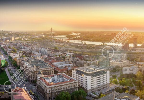 Belgrade-downtown-Ada-bridge-afternoon-aerial-panorama-1