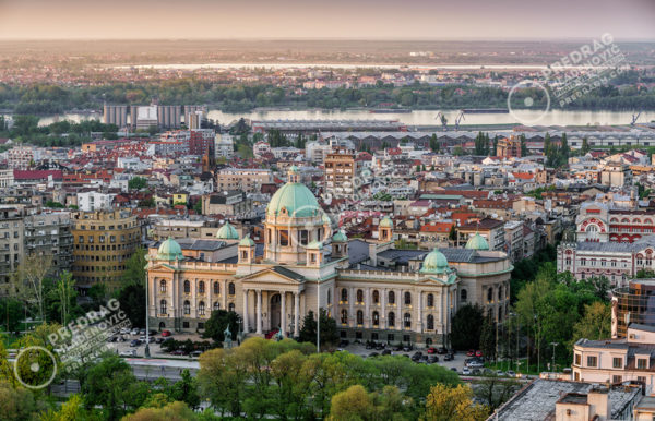 House-of-the-National-Assembly-of-the-Republic-of-Serbia-by-day-aerial-view